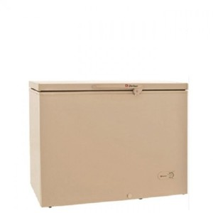 Single Door Deep Freezer - 8 Cubic Feet - Beige
