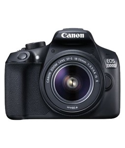 Canon EOS 1300D DSLR Camera with EF-S 18-55mm IS Lens