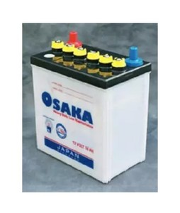 Osaka 12GEN - 7 Plates Acid Battery - White (MR35)