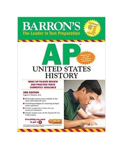 Barrons AP United States History Book 3rd Edition