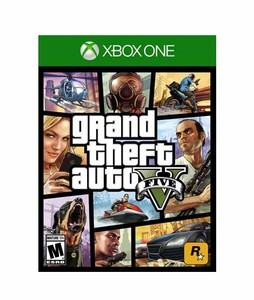 Grand Theft Auto V Game For Xbox One