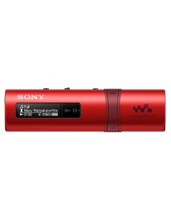 Sony 4GB USB MP3 Player Red (NWZ-B183)