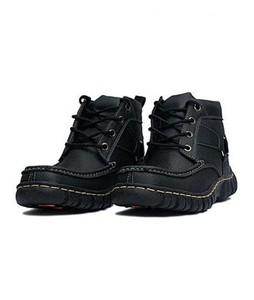 PIP Black Digger Shoes For Mens Black