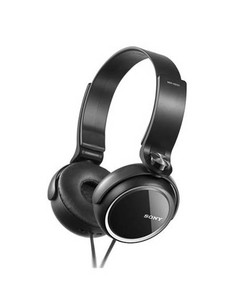 Sony Extra Bass Headphone Black (MDR-XB250)