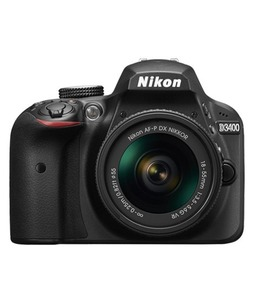 Nikon D3400 DSLR Camera With 18-55mm NVR Lens