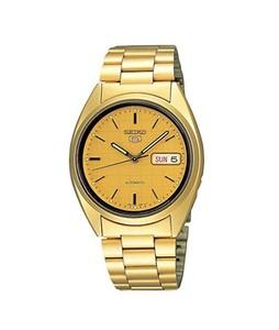 Seiko 5 Mens Watch Gold (SNXL72)
