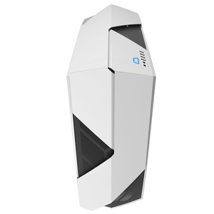 NZXT Noctics 450 ATX Mid Tower PC Casing White/Blue (CA-N450W-W1)