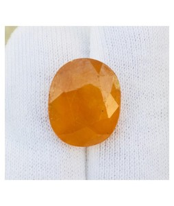 Mujahid Traders Topaz Sapphire Stone For Ring Yellow