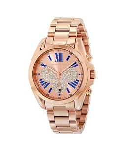 Michael Kors Bradshaw Womens Watch Rose Gold (MK6321)