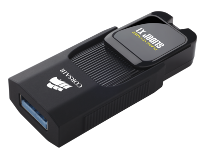 Corsair Flash Voyager Slider X1 32GB USB 3.0 Flash Drive (CMFSL3X1-32GB)