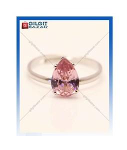 Gilgit Bazar Topaz Stone Ring For Women Pink (GB1218)