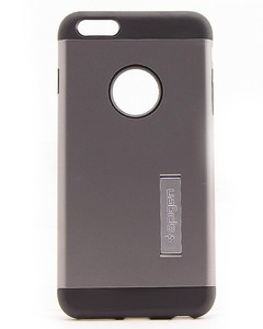MaujTech Spigen Case For iPhone 6 Plus Grey And Black