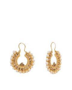 Asaan Buy Stylish Gold Plated Earrings Gold (J-022)
