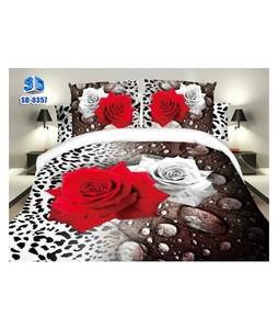 RGshop 3D Double Bed Sheet (SD-0357)