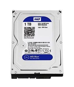 Western Digital Blue 1TB SATA PC Desktop Internal Hard Drive (WD10EZEX)