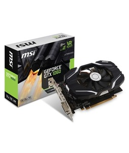 MSI GeForce GTX 1060 3G OCV1 3GB Graphics Card