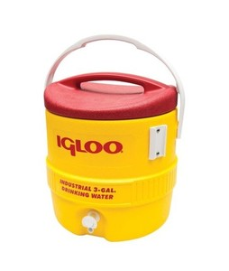 Igloo 400 Series 3 Gallon Heavy Duty Water Cooler Yellow (00431)