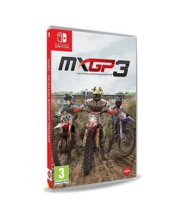 Mxgp 3: The Official Motocross Game For Nintendo Switch