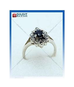 Gilgit Bazar Sapphire Stone Ring For Women (GB1900)