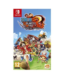 One Piece Unlimited World Red Deluxe Edition for Nintendo Switch Game
