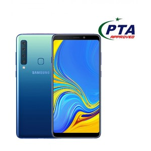 Samsung Galaxy A9 2018 128GB 6GB Dual Sim Lemonade Blue - Official Warranty