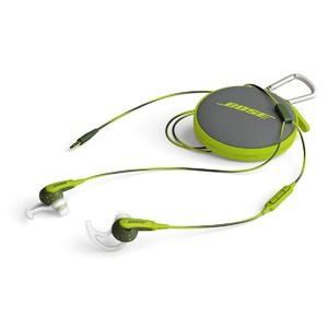 Bose SoundSport In-Ear Headphones Energy Green For Apple