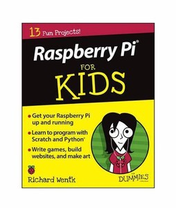 Raspberry Pi For Kids For Dummies Book