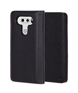 Case Mate Wallet Folio Black Case For LG V30