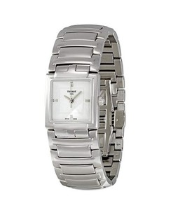 Tissot T-Evocation Womens Watch Silver (T0513101103100)