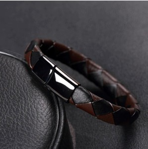 Julke Blanc Leather Band For Men Brown