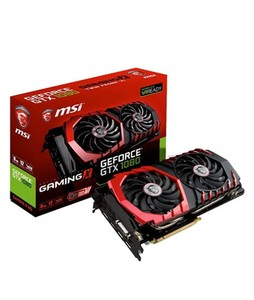 MSI GeForce GTX 1080 Gaming X 8GB GDDR5X Graphics Card
