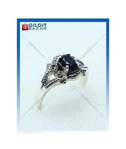 Gilgit Bazar Sapphire Stone Ring For Women (GB1895)