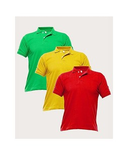 Mardaz Pack of 3 Multicolour PC Polo T-Shirt For Men