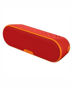 Sony Portable Bluetooth Wireless Speaker Red (SRS-XB2)