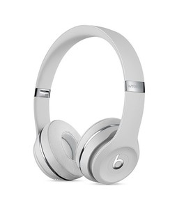Beats Solo 3 Wireless Bluetooth On-Ear Headphones Satin Silver