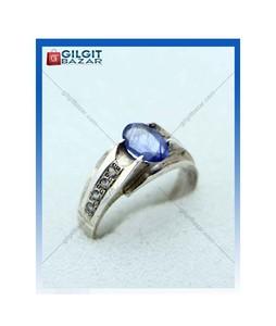 Gilgit Bazar Sapphire Stone Ring For Men (GB1959)