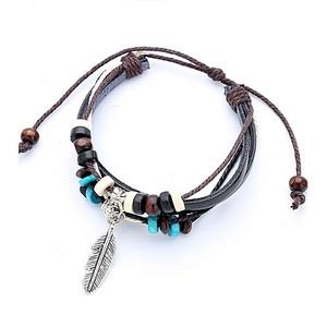 Rhizmall Beads & Rope Bracelet For Women