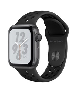 Apple iWatch Series 4 44mm Space Gray Aluminum Case With Anthracite/Black Nike Sport Band – GPS (MU6L2LL)