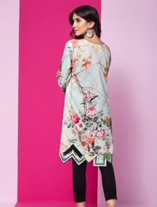Khas Stores Stitched Lawn Kurti For Women 1 Piece (DR-287)