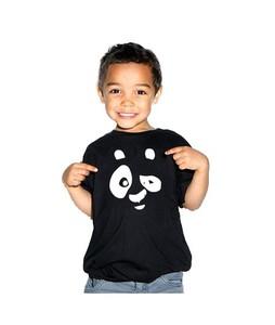 C-Tees Panda Print T-Shirt For Boys Black (CKT10216)