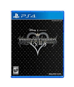 Kingdom Hearts HD 1.5 + 2.5 Remix Game For PS4