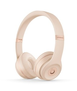Beats Solo 3 Wireless Bluetooth On-Ear Headphones Matte Gold
