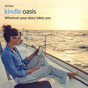 Amazon Kindle Oasis E-reader 7 32 GB Champagne Gold