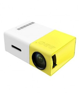 Shop Online Mini Portable LED Projector Yellow