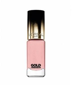 LOreal Paris Color Riche Nail Polish Gold Obsession Pink Gold