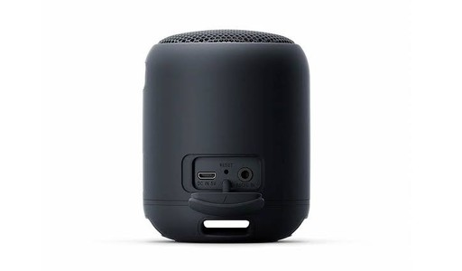Sony Portable Wireless Bluetooth Speaker Black (SRS-XB12)
