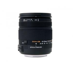 Sigma 18-125mm f/3.8-5.6 DC HSM Zoom Lens for Digital SLR