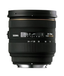Sigma 24-70mm f/2.8 IF EX DG HSM Lens for Sony A