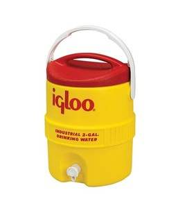 Igloo 400 Series 2 Gallon Heavy Duty Water Cooler Yellow (00421)