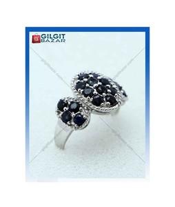 Gilgit Bazar Sapphire Stone Ring For Women (GB1899)